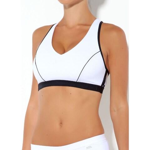 Shock Absorber Women's Plunge Sports Bra Medium Support 2010 V4246