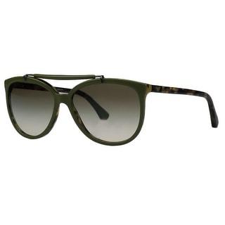 Emporio Armani EA4039 526/78E Moss Green Wayfarer Sunglasses
