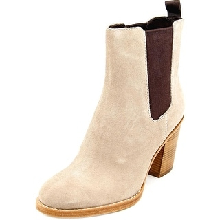 Cole Haan Draven Short Boot Women Round Toe Suede Pink Ankle Boot