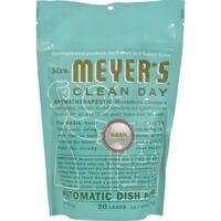 Mrs. Meyer's Auto Dishwash Packs - Basil - 12.7 oz