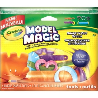 Crayola Model Magic Shape 'N Cut Tools 6/Pkg-