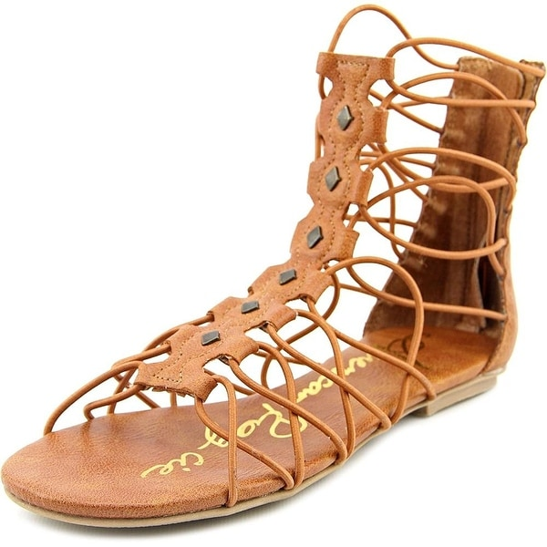 American Rag Womens ROMEN Leather Open Toe Casual Gladiator Sandals