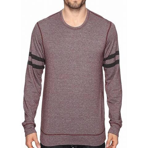 Splendid Mills Mens Sweater Red Size Medium M Knit Crewneck Pullover