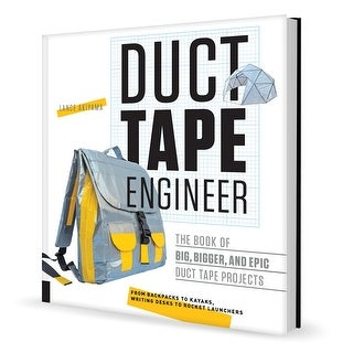Duct Tape Engineer by Lance Akiyama - Paperback Book - Build with Duct Tape
