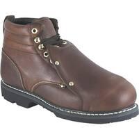 Golden Retriever Footwear Men's 08940 Brown Full Grain Leather