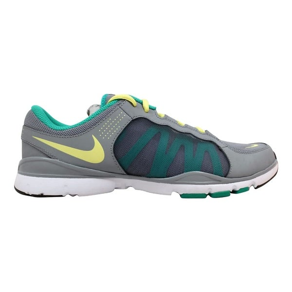 2d68c12218e61 Nike Flex Trainer II 2 Grey Electric Yellow-Atomic Teal 511332-013 Women