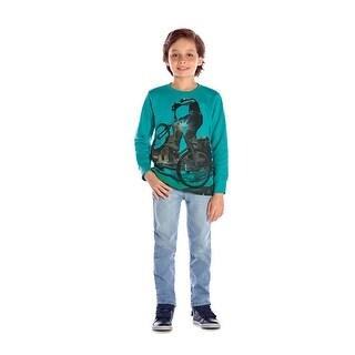 Boys Sweatshirt Long Sleeve T-Shirt Graphic Tee Winter Pulla Bulla 2-10 Years