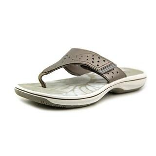 Clarks Brinkley Star Open Toe Synthetic Flip Flop Sandal