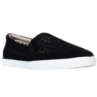 Nine West Banter Slip-On Sneakers - Black Suede