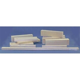 Alvin BS1736 3 in. x 3 in. Balsa Wood Block