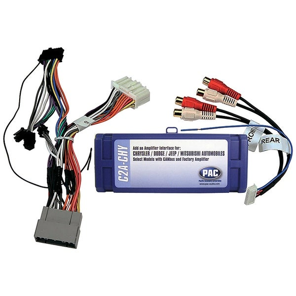 PAC Amplifier integration interface for Chrysler LSFT CAN Bus vehicles