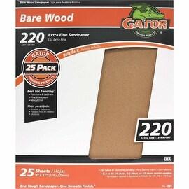 Gator 220G Garnet Sandpaper