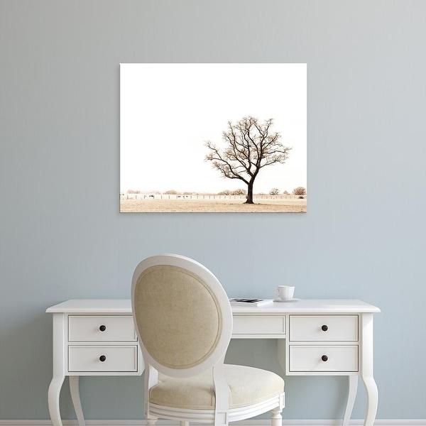 Easy Art Prints Keri Bevan's 'Bleached Bones of Winter' Premium Canvas Art
