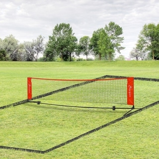 Link to Soozier 23 ft Portable Double Sided Soccer Training Rebounder Trainer Net for Practice with Included Storage Bag, Red Similar Items in Printers