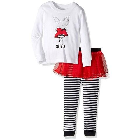 Intimo Baby Girls' Olivia The Pig Tutu Pajamas Sleepwear Bedtime Story