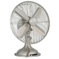 """Hunter Home Comfort 9040 12"""" 1250 CFM 3 Speed Retro Style Table Top Fan - n/a"""