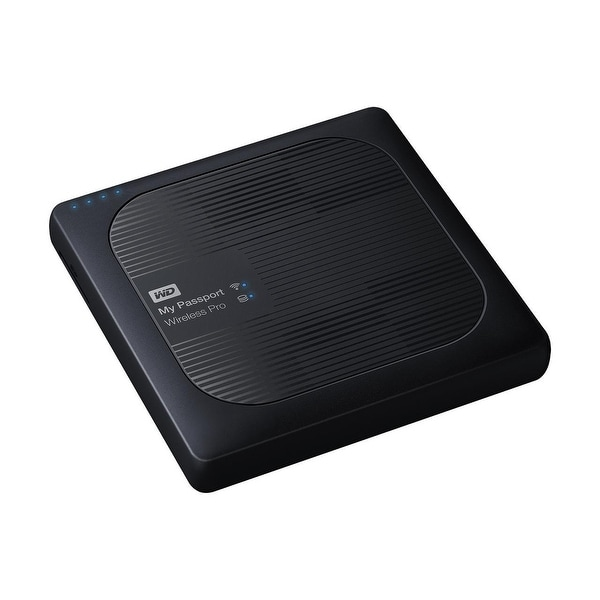 Western Wdbvpl0010bbk-Nesn 1Tb My Passport Wireless Pro Usb 3.0 External Hdd