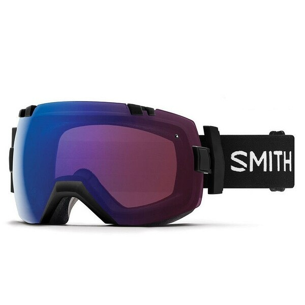 9201149b76ca7 Shop Smith Optics I Ox Snow Goggles (Black Frame CP Photochromic Rose Flash  Lens) - Black - Free Shipping Today - Overstock - 26507607
