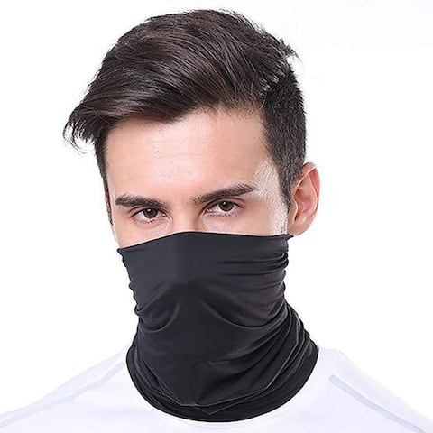 Moisture Wicking Breathable Stretch Gaiter Face Mask (Multiple Colors)