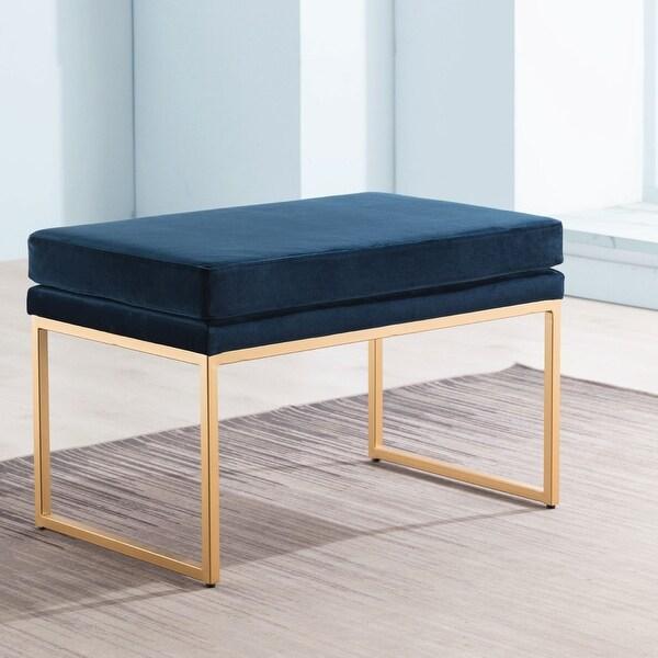 Kotter Home Upholstered Rectangular Bench/Ottoman. Opens flyout.