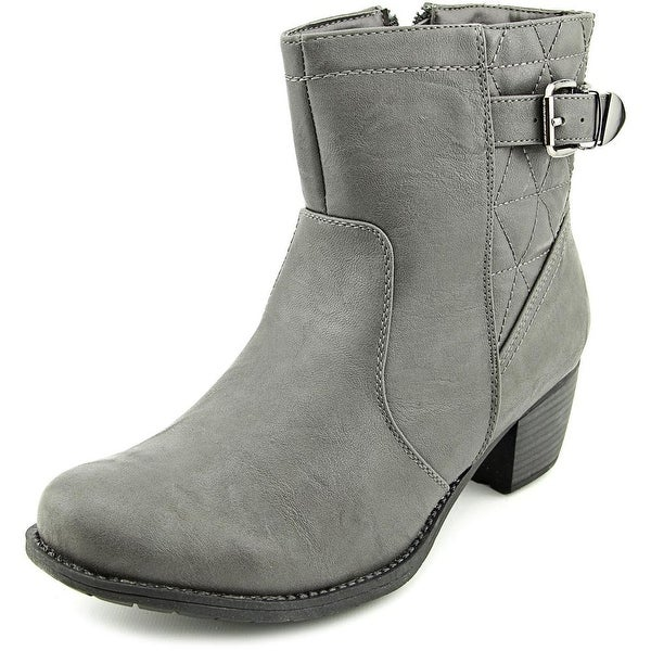 Easy Street Crosby N/S Round Toe Synthetic Bootie