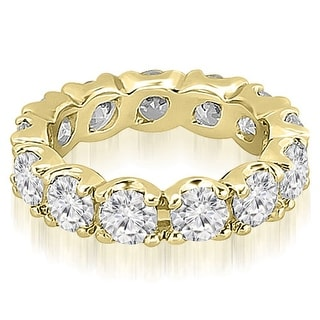 2.70 ct.tw 14K Yellow Gold Round Diamond Eternity Ring