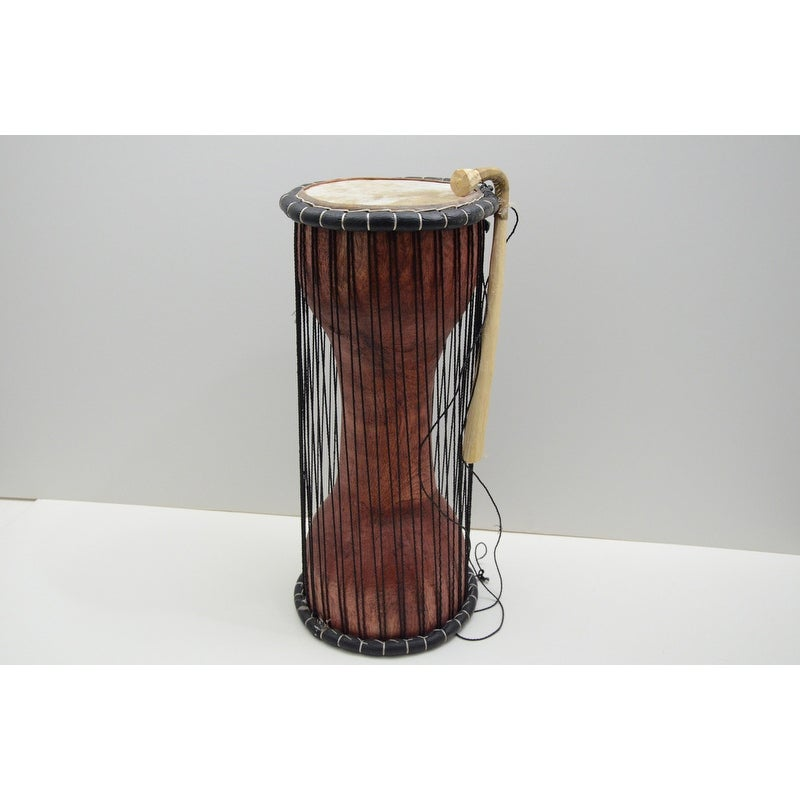 No logo Kppto Cha/îne Nut Shell Main African Drum Handbell Djembe Chimes Main de Bell Durable Son