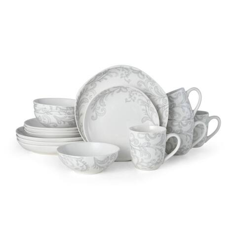 Fitz and Floyd Maddi Floral 16 piece Dinnerware Set (Service for 4)