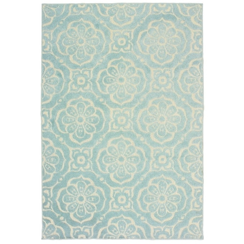 Port Clarence Floral Medallions Area Rug by Havenside Home