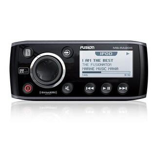 Fusion MS-RA205 50W x 4, iPod/iPhone XM Ready Receiver FUSION MS-RA205 50W x 4