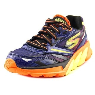 Skechers Go Run 4 Round Toe Synthetic Running Shoe