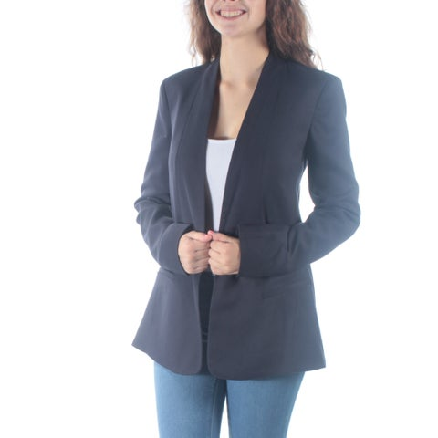 RACHEL ROY Womens Navy Bolero Wear To Work Jacket Size: 2
