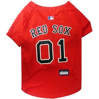 Boston Red Sox Dog Jersey - Extra Small