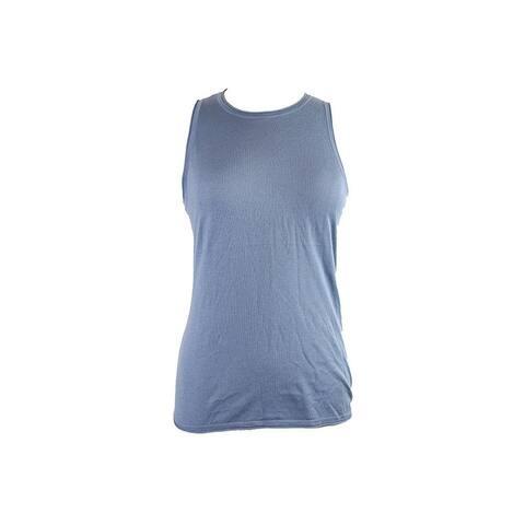 Lauren Ralph Lauren Plus Size Blue Sleeveless Sweater Top 3X