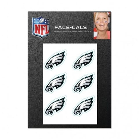 Philadelphia Eagles Tattoo Face Cals - As Pictured