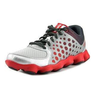 Reebok ATV 19 Youth Round Toe Synthetic Gray Running Shoe