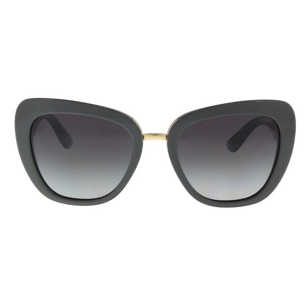 Dolce & Gabbana DG4296 30908G Gray Butterfly Sunglasses - 53-20-140