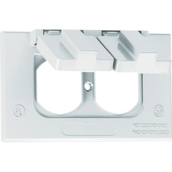 Shop Sigma 14245wh 1 Gang White Weatherproof Duplex Receptacle Cover