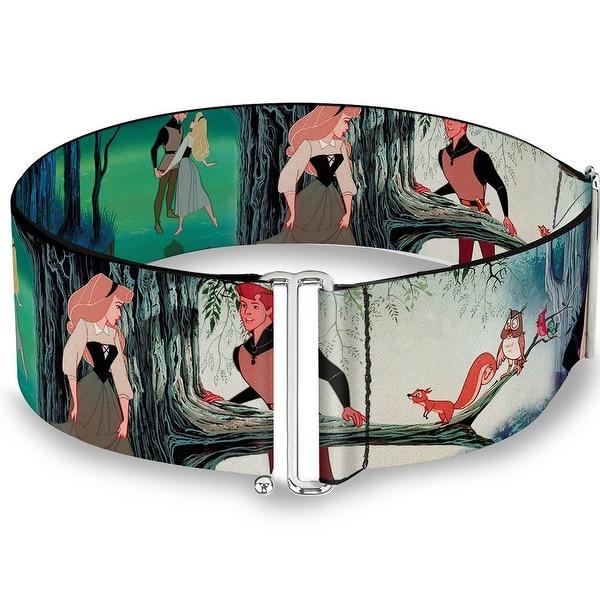 Sleeping Beauty Woods Scenes Cinch Waist Belt ONE SIZE