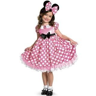 Disguise Pink Minnie Glow In the Dark Child Costume
