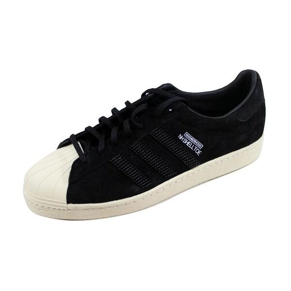 Adidas Men's NH Shelltoe Black/Black-Bone M25785