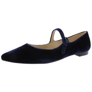 Marc Fisher Womens Stormy2 Flats Velvet Pointed Toe
