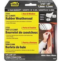 M-D Building Products Wht Epdm Weatherstrip 02618 Unit: EACH