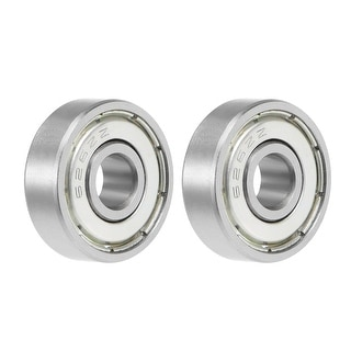 626ZZ Deep Groove Ball Bearing 6x19x6mm Double Shielded Chrome Bearings 2pcs - 2 Pack - 626ZZ (6*19*6)