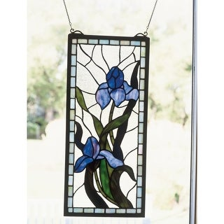 Meyda Tiffany 36073 Stained Glass Tiffany Window from the Window Garden Collection - Tiffany Glass - N/A