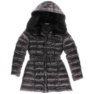 Dawn Levy Womens Gabby Quilted Down Parka - S