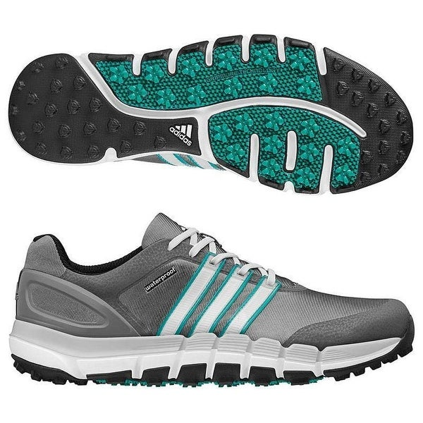 a676b5a3198247 Shop Adidas Men's Pure 360 Gripmore Sport Granite/Running White/Power Green Golf  Shoes Q46741 - Free Shipping Today - Overstock.com - 19224978
