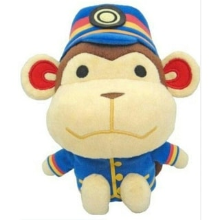 "Animal Crossing 8"" Plush Porter - multi"