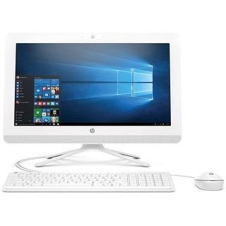 "HP 20-C020 19.5"" AIO Desktop AMD E2-7110 1.8GHz 4GB 1TB Windows 10"
