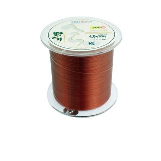 Unique Bargains 328Yds/300M 0.32mm 22 lbs Nylon Spool Fishing Line